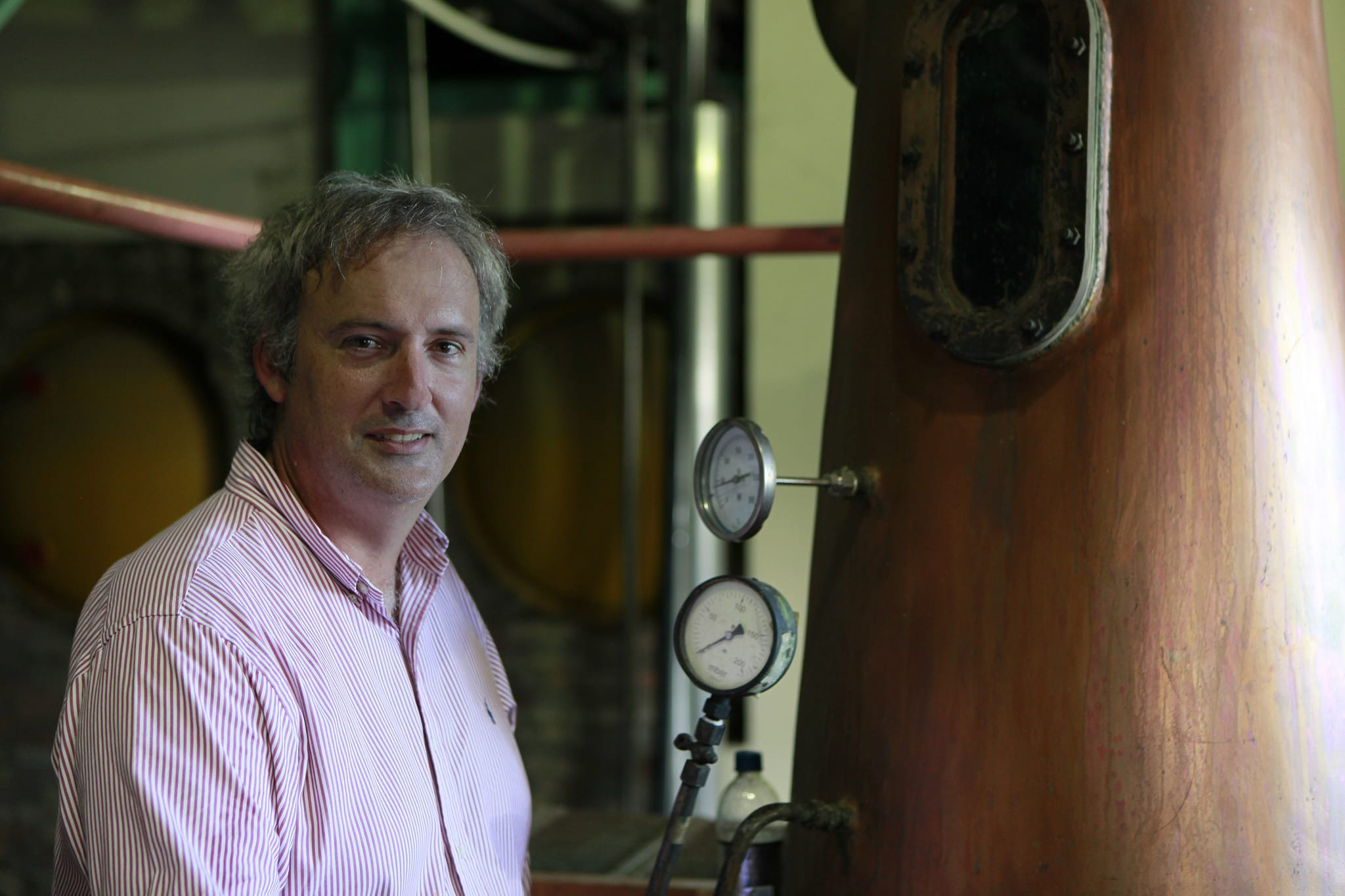 Richard Seale, distillerie Foursquare à la Barbade