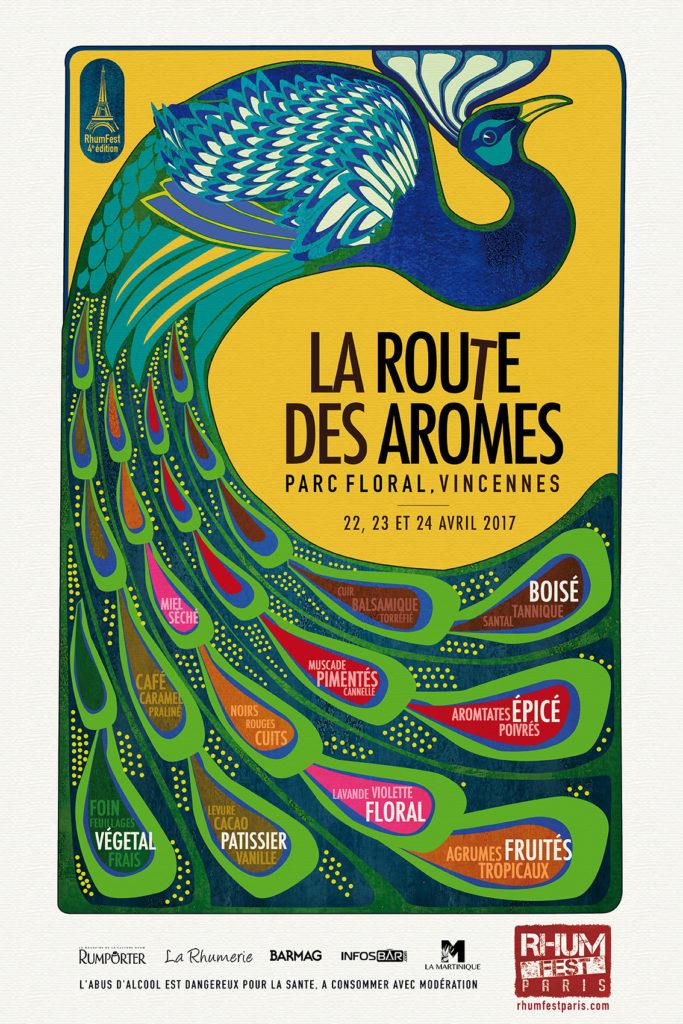 Rhum Fest Paris 2017 - La Route des arômes