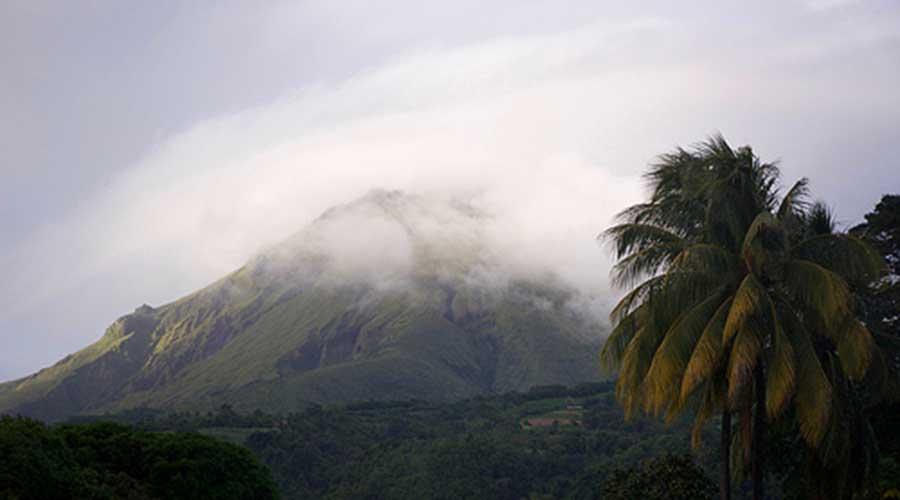 Route du rhum Martinique - Montagne pelée